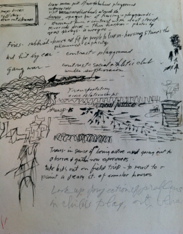 Untitled, Sketchbook (1940s)